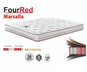 MARSALLA / МАРСАЛА матрас серии FourRed тм Матролюкс